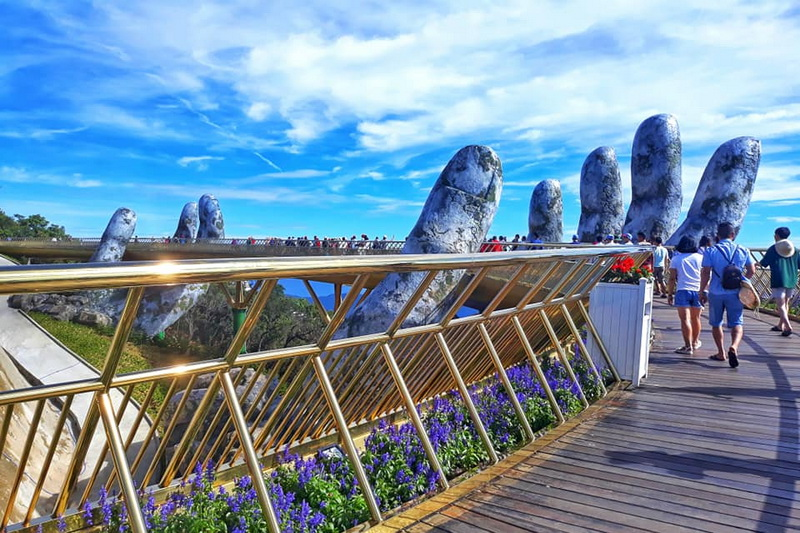Golden Bridge in Danang